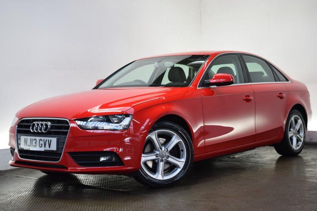 2013 Audi A4 2.0TD SE Technik (177ps) S Tronic (13 Reg)