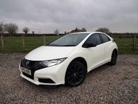 USED 2014 HONDA CIVIC 1.6 I-DTEC BLACK EDITION 5d 118 BHP ONLY 1 OWNER FROM NEW WITH FULL HONDA SERVICE HISTORY