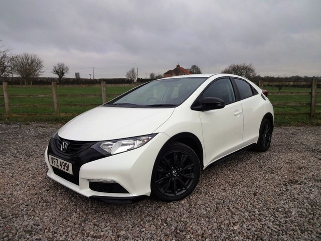 2014 HONDA CIVIC 1.6 I-DTEC BLACK EDITION 5d 118 BHP