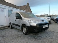 USED 2012 12 PEUGEOT PARTNER 850 S L1 1.6 HDI ( 90 bhp ) One Owner FSH