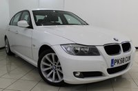 USED 2008 58 BMW 3 SERIES 2.0 320I SE 4DR 168 BHP FULL SERVICE HISTORY + CLIMATE CONTROL + CRUISE CONTROL +  PARKING SENSORS + MULTI FUNCTION WHEEL + 17 INCH ALLOY WHEELS