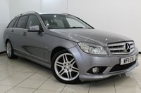 USED 2011 11 MERCEDES-BENZ C CLASS 3.0 C350 CDI BLUEEFFICIENCY SPORT 5DR AUTO 231 BHP MERCEDES SERVICE HISTORY + HALF LEATHER SEATS + PARKING SENSOR + MULTI FUNCTION WHEEL + CLIMATE CONTROL + 17 INCH ALLOY WHEELS
