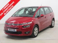 USED 2016 16 CITROEN C4 GRAND PICASSO 1.6 BlueHDi VTR+ 5dr EAT6 ***1 owner,7 seats,Air Conditioning,Automatic, Bluetooth, Rear Parking Sensors***