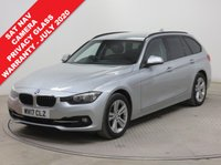 USED 2017 17 BMW 3 SERIES 318i Sport 5dr Step Auto ***1 owner, Sat Nav, Reversing Camera, Privacy Glass, balance of BMW Warranty until July 2020***