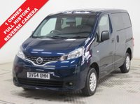 USED 2014 64 NISSAN NV200 1.5 dci 90 Acenta 5dr [7 Seat] ***1 owner,7 seats,Reverse Camera, Full Service History, MOT Until 2.8.18***
