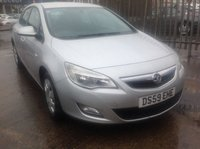 USED 2010 59 VAUXHALL ASTRA 1.4 EXCLUSIV 5d 98 BHP Great value family hatchback, 61000 miles, superb.
