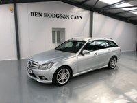 USED 2011 11 MERCEDES-BENZ C CLASS 2.1 C220 CDI BLUEEFFICIENCY SPORT 5d AUTO 170 BHP BLUETOOTH, CRUISE