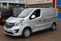 USED 2015 65 VAUXHALL VIVARO 1.6 2900 L1H1 CDTI P/V SPORTIVE 5d 114 BHP A/C ECO  ONE OWNER FROM NEW