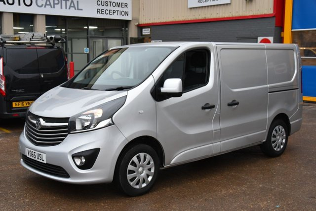 2015 65 VAUXHALL VIVARO 1.6 2900 L1H1 CDTI P/V SPORTIVE 5d 114 BHP A/C ECO  ONE OWNER FROM NEW
