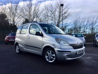USED 2002 51 TOYOTA YARIS 1.3 VERSO GLS VVT-I 5d AUTO 85 BHP MOT TILL OCTOBER 18 PART EXCHANGE TO CLEAR