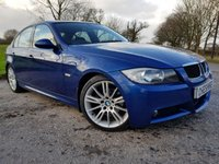 USED 2007 56 BMW 3 SERIES 2.0 320D M SPORT 4d UPGRADED ALLOYS