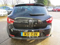 USED 2011 11 SEAT IBIZA 1.2 TSI SPORT DSG 3d AUTO 103 BHP LOW MILEAGE, ALLOYS, AIR CON, FULL SERVICE HISTORY, SPARE KEY
