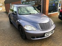 2007 CHRYSLER PT CRUISER 2.4 CLASSIC 5d 141 BHP IN METALLIC BLUE WITH SERVICE HISTORY £2990.00