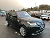 USED 2017 17 LAND ROVER DISCOVERY 3.0 TD6 HSE LUXURY 5d AUTO 255 BHP Rear entertainment screens, 360 SurroundView cameras, huge saving