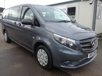2017 MERCEDES-BENZ VITO 114 BLUETEC 9 SEATER TOURER PRO, 136 BHP [EURO 6], AIR CON, LEATHERETTE £SOLD