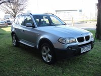 USED 2004 54 BMW X3 2.5 SPORT 5d AUTO 190 BHP LPG ANY PART EXCHANGE WELCOME, COUNTRY WIDE DELIVERY ARRANGED, HUGE SPEC
