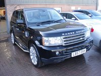 USED 2008 57 LAND ROVER RANGE ROVER SPORT 2.7 TDV6 SPORT SE 5d AUTO 188 BHP ANY PART EXCHANGE WELCOME, COUNTRY WIDE DELIVERY ARRANGED, HUGE SPEC