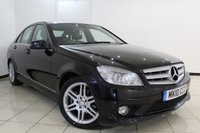 USED 2010 10 MERCEDES-BENZ C CLASS 2.1 C200 CDI SPORT 4DR 135 BHP SERVICE HISTORY + HALF LEATHER SEATS + BLUETOOTH + CRUISE CONTROL + MULTI FUNCTION WHEEL + CLIMATE CONTROL + 17 INCH ALLOY WHEELS