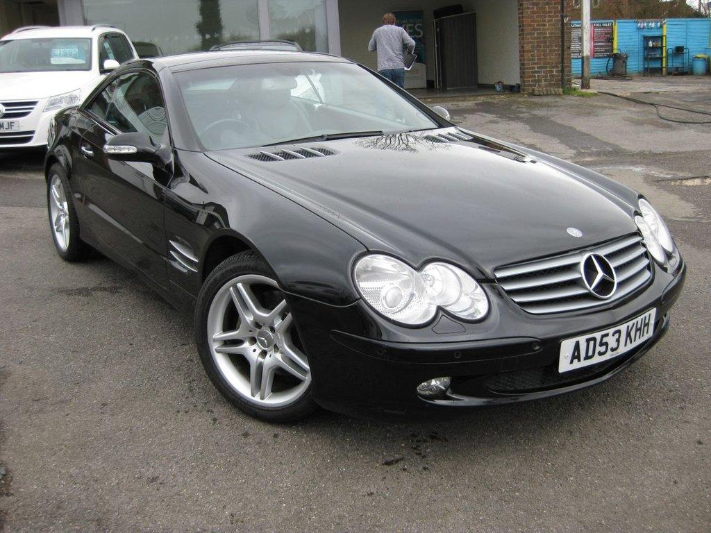 2004 Mercedes-Benz SL 500 5.0 Sl500 2D Auto 306 BHP