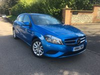 2014 MERCEDES-BENZ A CLASS 1.5 A180 CDI BLUEEFFICIENCY SE 5d AUTO 109 BHP PLEASE CALL TO VIEW £12000.00