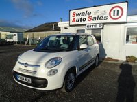 USED 2014 64 FIAT 500L MPW 1.2 MULTIJET POP STAR 5d 85 BHP £41 PER WEEK, NO DEPOSIT - SEE FINANCE LINK BELOW