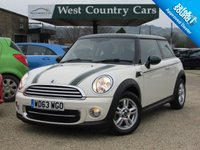 USED 2014 63 MINI HATCH COOPER 1.6 COOPER D 3d 112 BHP £0 For A Years Tax And 60MPG
