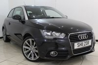 USED 2011 11 AUDI A1 1.6 TDI SPORT 3DR 103 BHP SERVICE HISTORY+ BLUETOOTH + MULTIU FUNCTION WHEEL + AIR CONDITIONING + 16 INCH ALLOY WHEELS