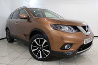USED 2015 15 NISSAN X-TRAIL 1.6 DCI TEKNA 5DR 130 BHP NISSAN SERVICE HISTORY + HEATED LEATHER SEATS + REVERSE CAMERA WITH 360 DEGREE VIEW + BLUETOOTH + CRUISE CONTROL + PARKING SENSOR + MULTI FUNCTION WHEEL + 19 INCH ALLOY WHEELS
