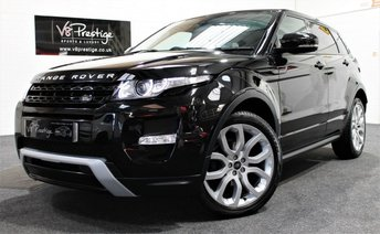 2013 LAND ROVER RANGE ROVER EVOQUE 2.2 SD4 DYNAMIC 5d 190 BHP £23955.00