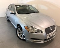 """USED 2010 10 JAGUAR XF 3.0 V6 LUXURY 4d AUTO 240 BHP SAVE £500 NOW ONLY £7499 ! Fabulous example in Liquid Silver with black leather,18""""alloys,Sat Nav,heated seats,PDC-Only 72,000 miles from new with Full Service History-"""