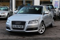 USED 2009 09 AUDI A3 SPORTBACK 1.8 TFSI 160PS SPORT 5DR HATCHBACK ** PANORAMIC SUNROOF ** FULL AUDI MAIN DEALER SERVICE HISTORY **
