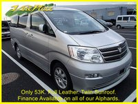 USED 2003 03 TOYOTA ALPHARD TOYOTA ALPHARD 3.0 4WD MZ G EDITION 7 Seats, Leather, Sunroof +FULL LEATHER+4WD+SUNROOF+53k+