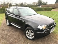 2005 BMW X3 3.0 D SE 5d 215 BHP Full Service History, MOT 09/18, Stunning Example £2749.00