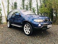 2006 BMW X5 3.0 D SPORT EDITION 5d AUTO 215 BHP £6650.00