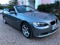 USED 2008 58 BMW 3 SERIES 2.0 320I SE Convertible 2d 168 BHP