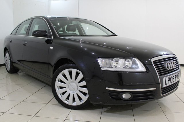 View our 2008 08 AUDI A6 2.0 TDI LIMITED EDITION 4DR 140 BHP