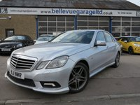 2011 MERCEDES-BENZ E CLASS 3.0 E350 CDI BLUEEFFICIENCY SPORT 4d AUTO 265 BHP £10995.00