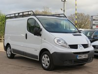 USED 2014 63 RENAULT TRAFIC 2.0 SL27 DCI S/R 1d 115 BHP NO VAT TO PAY
