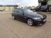 USED 2012 12 BMW 5 SERIES 2.0 520d M SPORT TOURING
