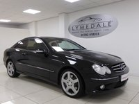 USED 2008 08 MERCEDES-BENZ CLK 2.1 CLK220 CDI SPORT 2d AUTO 148 BHP Full Mercedes History, Sat Nav, DVD, Red Leather