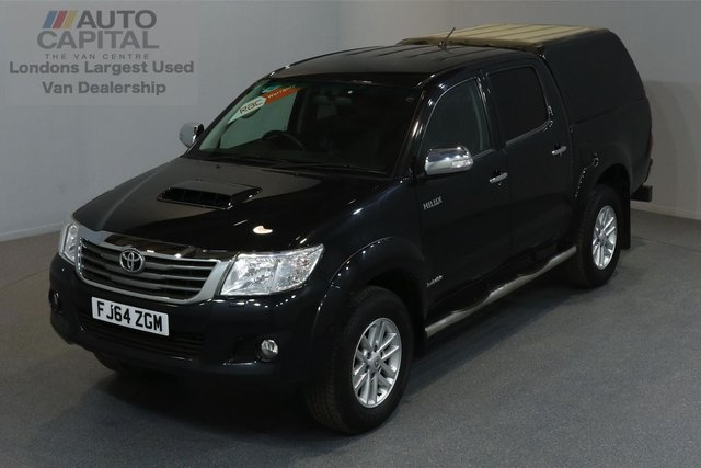 2014 64 TOYOTA HI-LUX 3.0 INVINCIBLE 4X4 D-4D DCB 5d AUTO 169 BHP A/C NAVI R.CAM LEATHER SEAT  OWNER FROM NEW, AUTOMATIC GEARBOX