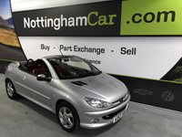 USED 2003 53 PEUGEOT 206 ALLURE S COUPE CABRIOLET