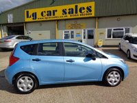 USED 2014 14 NISSAN NOTE 1.5 DCI VISIA 5d 90 BHP