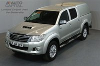 USED 2014 64 TOYOTA HI-LUX 3.0 INVINCIBLE 4X4 D-4D DCB AUTO 169 BHP A/C LEATHER SEAT ONE OWNER FROM NEW, FULL SERVICE HISTORY