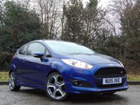 USED 2015 15 FORD FIESTA 1.0 ZETEC S 3d 124 BHP LOW MILEAGE AND MANUFACTURERS WARRANTY
