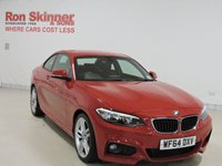 USED 2014 64 BMW 2 SERIES 2.0 220I M SPORT 2d 181 BHP
