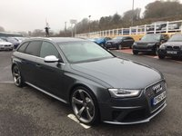 USED 2012 62 AUDI A4 RS4 AVANT 4.2 FSI V8 QUATTRO AUTO 444 BHP £7,000 in cost options very high spec