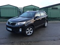 USED 2014 64 KIA SORENTO 2.2 CRDI KX-1 5d 194 BHP 7 SEATER FACELIFT ONE OWNER FSH NO FINANCE REPAYMENTS FOR 2 MONTHS STC. 4WD. 7 SEATER. STUNNING BLACK MET WITH GREY CLOTH TRIM. CRUISE CONTROL. 17 INCH ALLOYS. COLOUR CODED TRIMS. PARKING SENSORS. BLUETOOTH PREP. CLIMATE CONTROL. R/CD PLAYER. MFSW. MOT 11/18. ONE OWNER FROM NEW. FULL SERVICE HISTORY. FCA FINANCE APPROVED DEALER. TEL 01937 849492