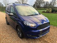 2017 FORD TRANSIT COURIER 1.5 SPORT TDCI 1d 94 BHP £13000.00
