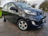 USED 2013 62 KIA PICANTO 1.0 1 AIR 5d SERVICE HISTORY